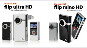 flip mino hd ultra hd 300x165 Flip UltraHD & Mino HD Cameras of the Moment.