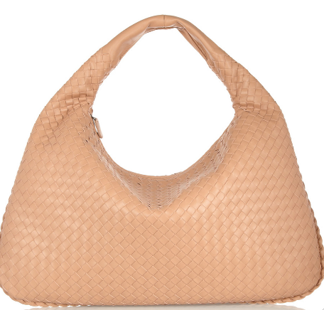 bottega veneta large intrecciato Bottega Veneta Large Intrecciato Leather Hobo Bag