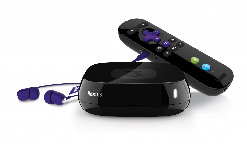 Roku 3 with Headphones Hot Christmas item 2013: The Roku 3