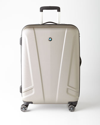BMW luggage Carryon Luggage Pinnacle Piece: BMW Champagne Hardside