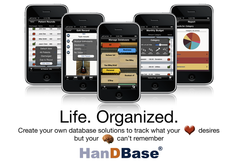 handbase Small Business App Productivity Alert: HanDbase