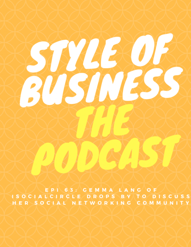 Epi 63: Gemma Lang of iSocialCircle drops by to discuss her social networking community