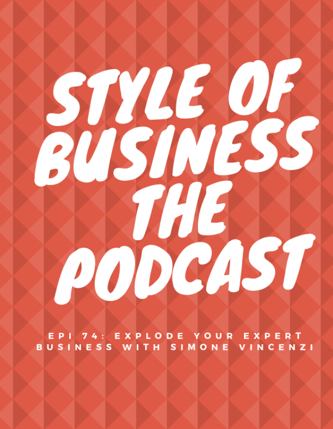Epi 74: Explode Your Expert Business with Simone Vincenzi